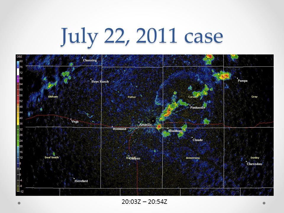 July 22, 2011 case 20:03Z – 20:54Z