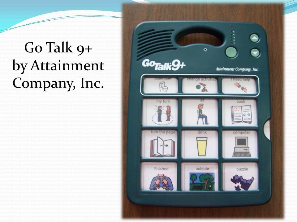 Go Talk 9+ by Attainment Company, Inc.