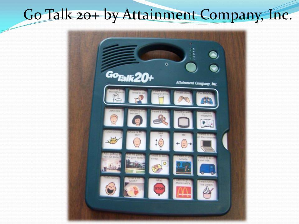 Go Talk 20+ by Attainment Company, Inc.
