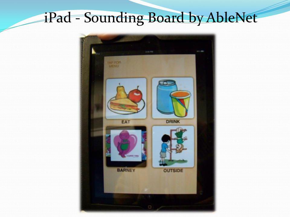 iPad - Sounding Board by AbleNet