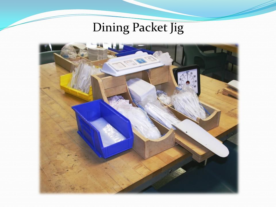 Dining Packet Jig