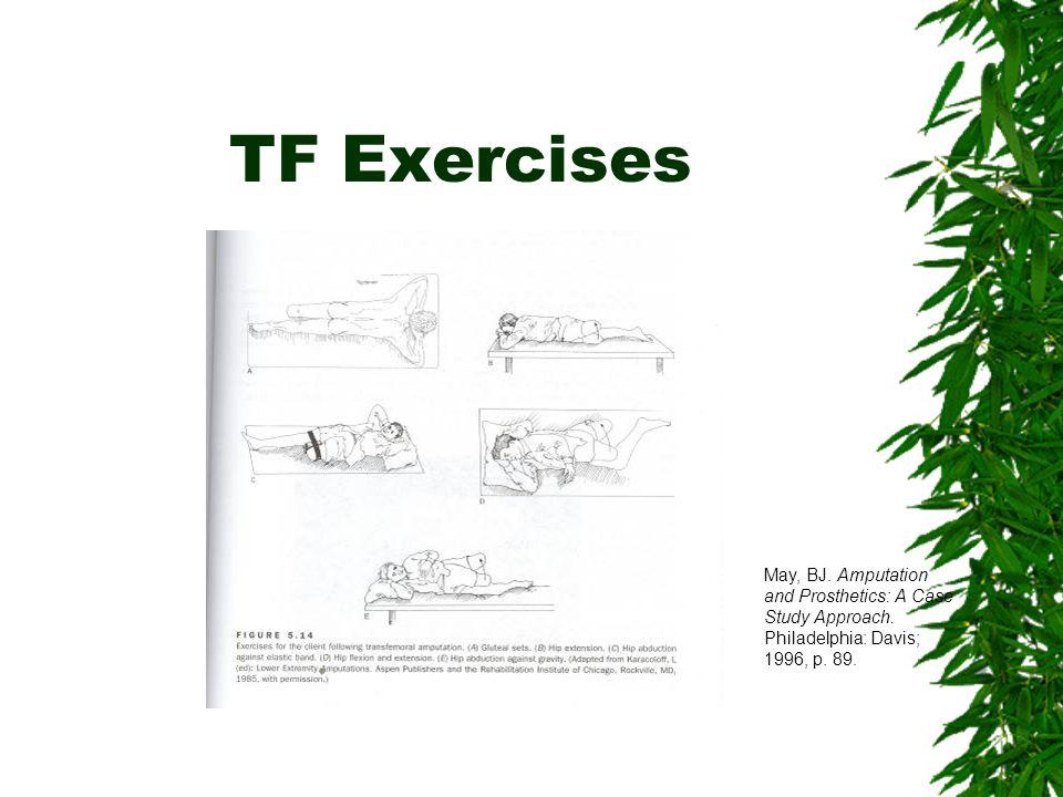 TT Exercises May, BJ. Amputation and Prosthetics: A Case Study Approach. Philadelphia: Davis; 1996, p. 88.