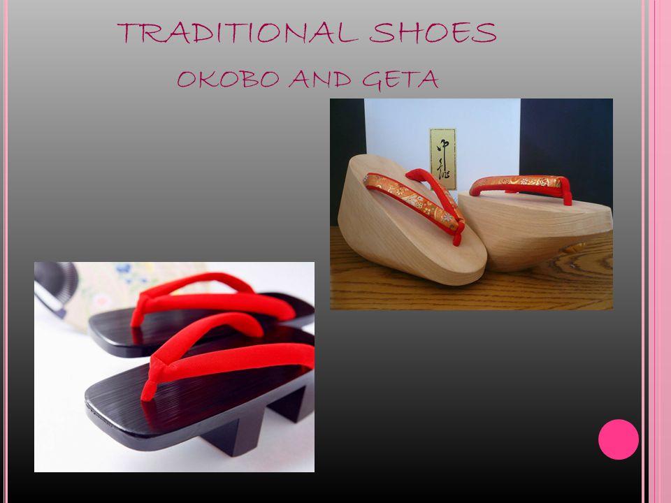 TRADITIONAL SHOES OKOBO AND GETA