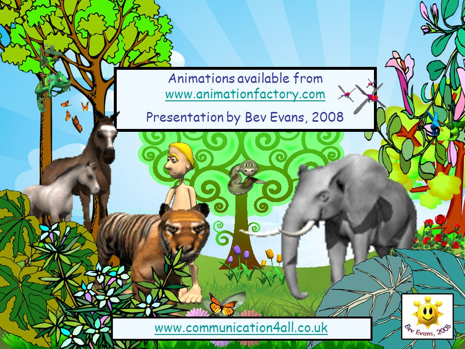Animations available from www.animationfactory.com www.animationfactory.com Presentation by Bev Evans, 2008 www.communication4all.co.uk