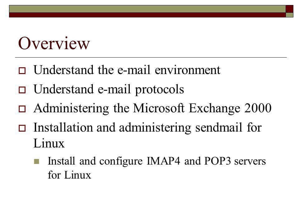 Windows Lab  Do project 8-9 page 437  Send email from a Linux server to a Windows machine.