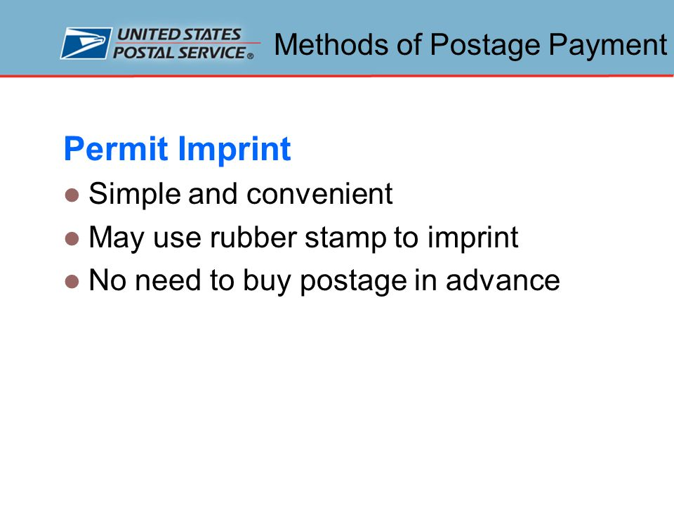 Mailpiece Characteristics Size and Shape The Postal Service separates mail into four shape categories: cards letters large envelopes and flats parcels Different rates and preparation standards depending on the shape Questions directed to Business Mail Entry staff or a Mailpiece Design Analyst (MDA)