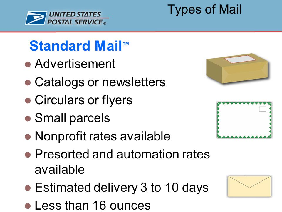 What is Discounted Mail.