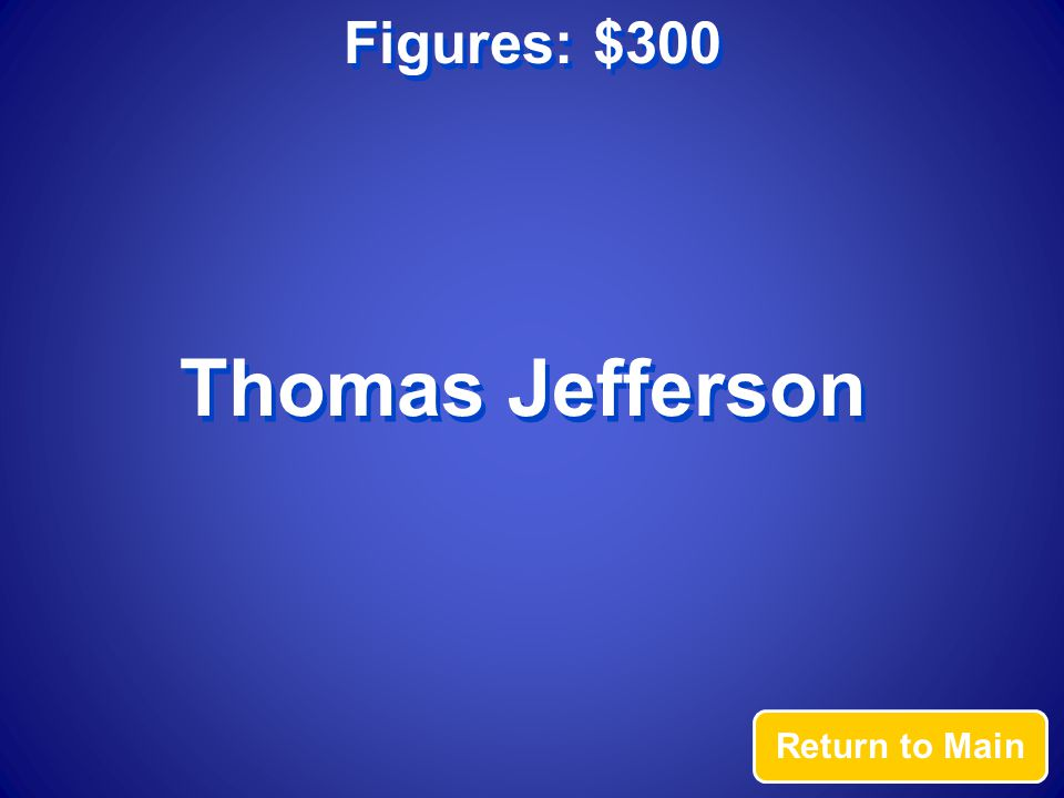 Terms: $300 Answer President James Monroe declared that all European nations should stay out of the Americas in the