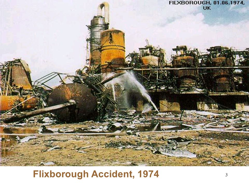 3 Flixborough Accident, 1974