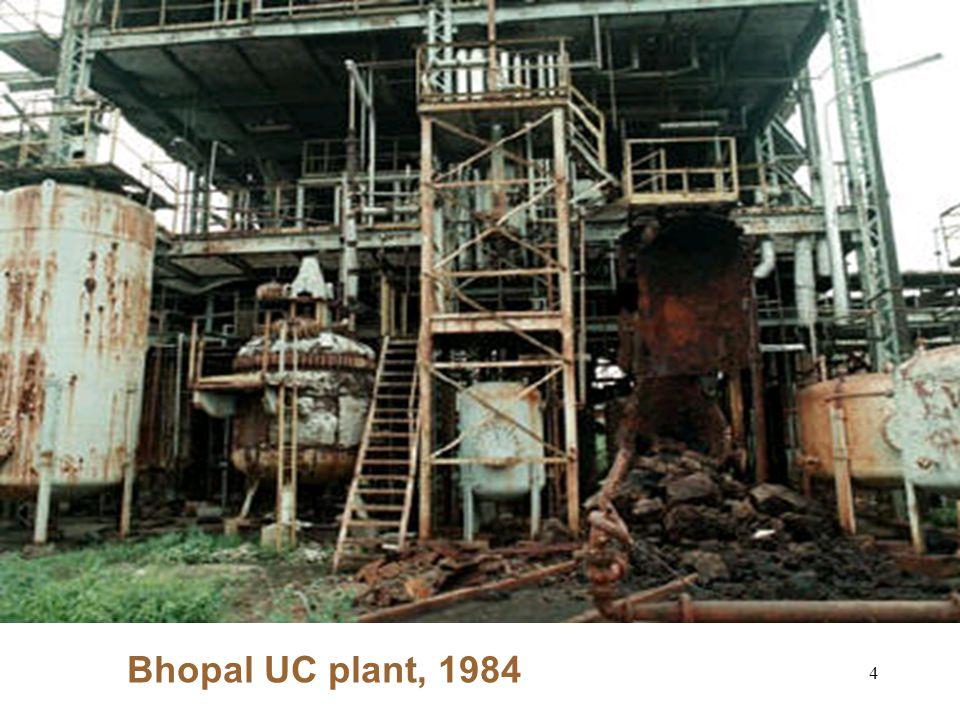 4 Bhopal UC plant, 1984