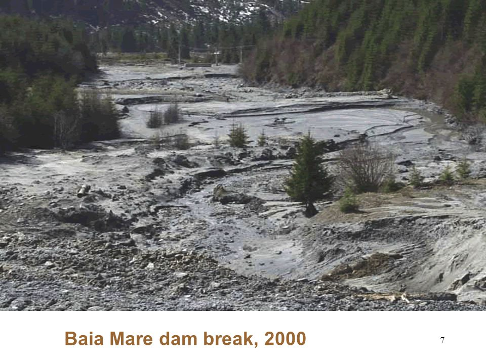 7 Baia Mare dam break, 2000