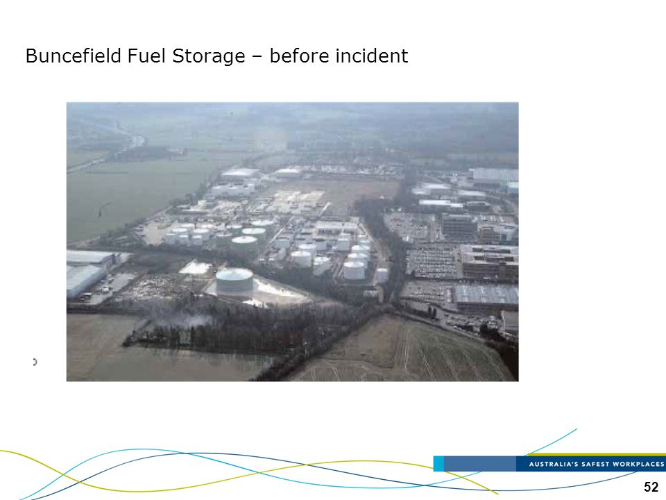 52 Buncefield Fuel Storage – before incident
