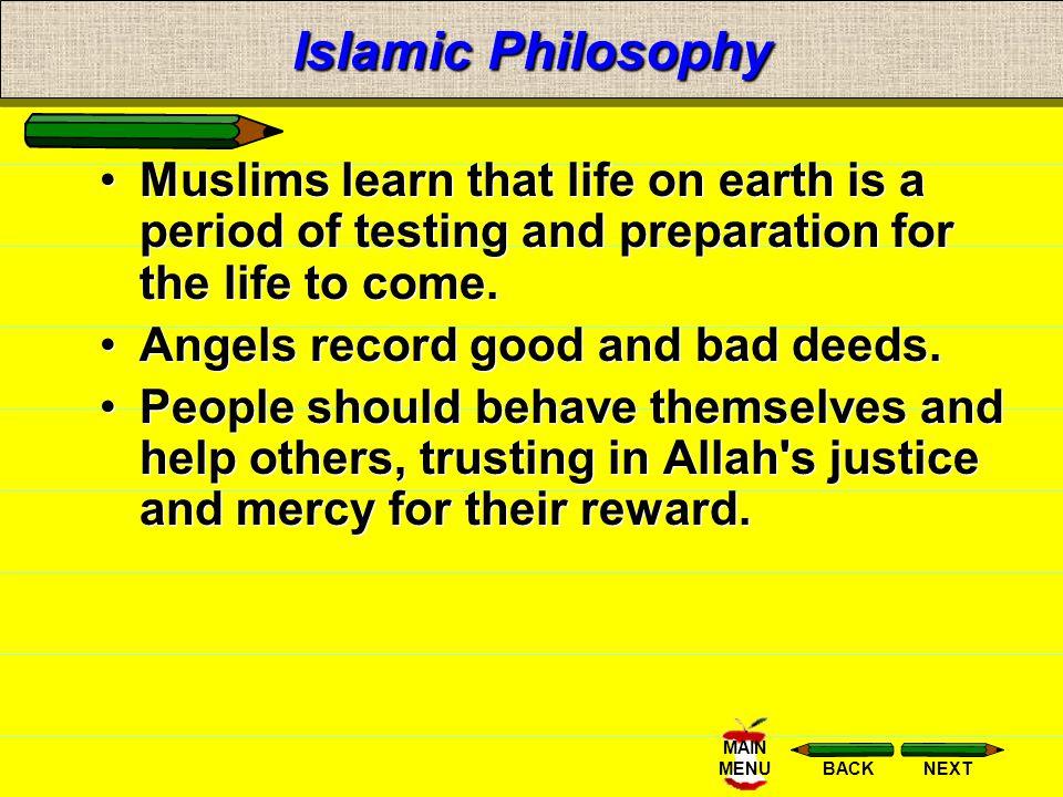 NEXTBACK MAIN MENUIslam The holy book of Islam is the
