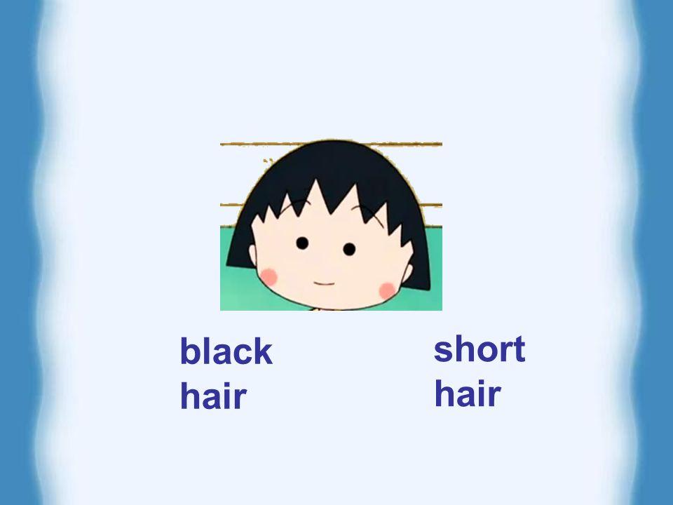 long black hair short black hair