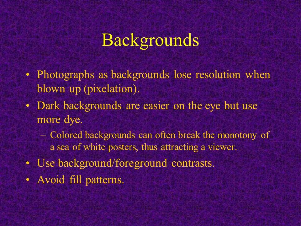 Organization Introduction/Summary: Use a minimum of background information.
