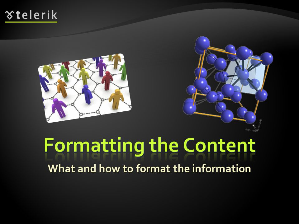  Now you have some materials on hand  But sometimes it is not enough  It is better to start making the presentation on your own and later on seek for help  You should make sure that your presentations are well structured and organized  Not a random list of bullet points with no logical order