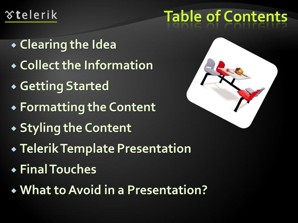 Key Points of Making Presentations Doncho Minkov Telerik Corporation www.telerik.com
