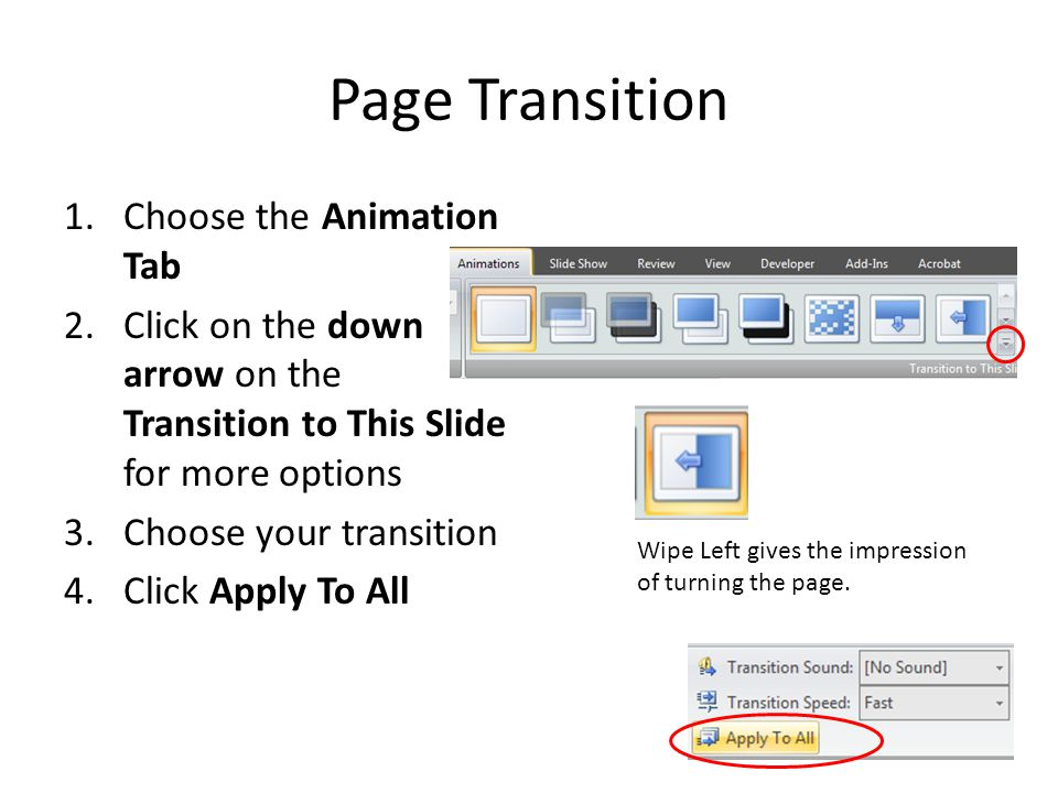 Duplicate Pages 1.Click the page in the left task pane 2.Press CTRL + D to duplicate 3.Repeat until you have the number of pages you need CTRL + D