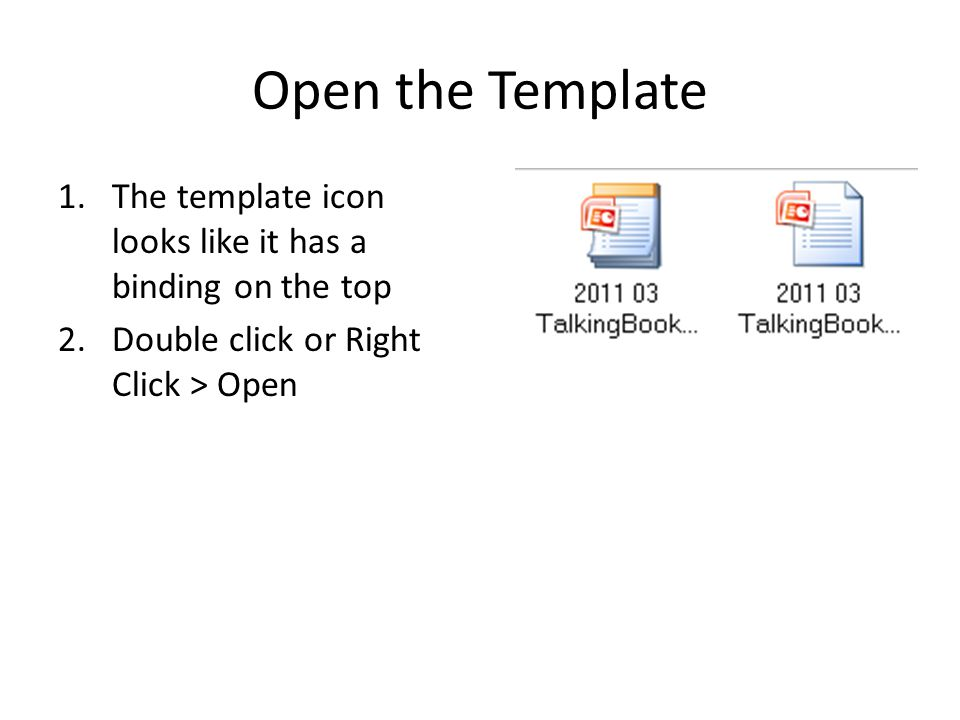 Save the Template 1.Click Save As 2.Choose Other Formats 3.Save type as PowerPoint Template(.pptx) 4.Choose your location, name, and save 5.Close