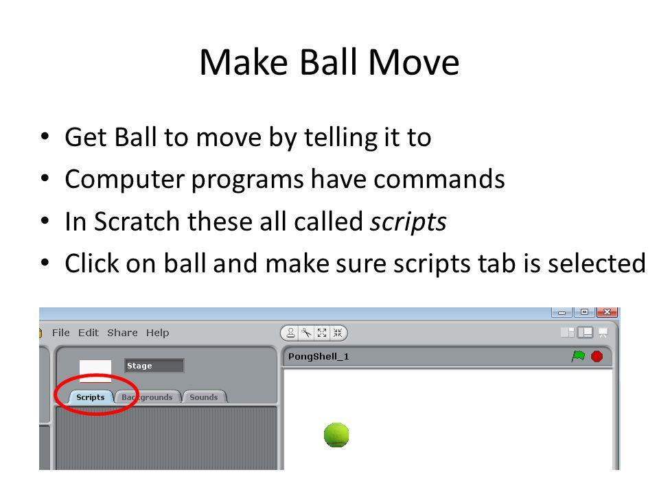 Add A Script Select the Control Script Drag a when green flag clicker control to script area
