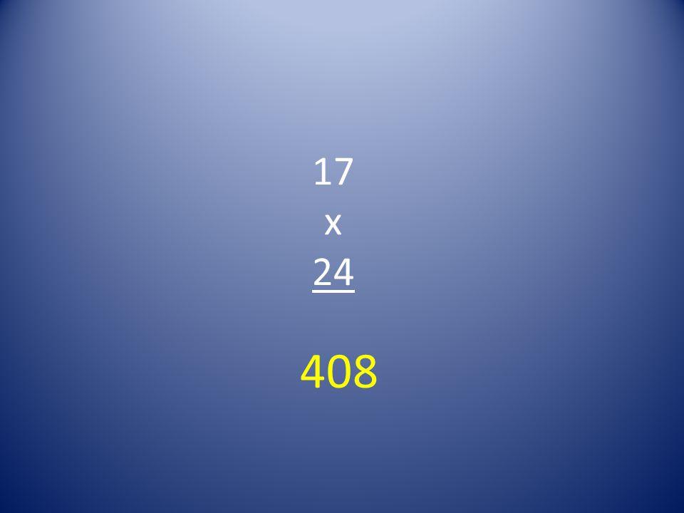 17 x 24 408