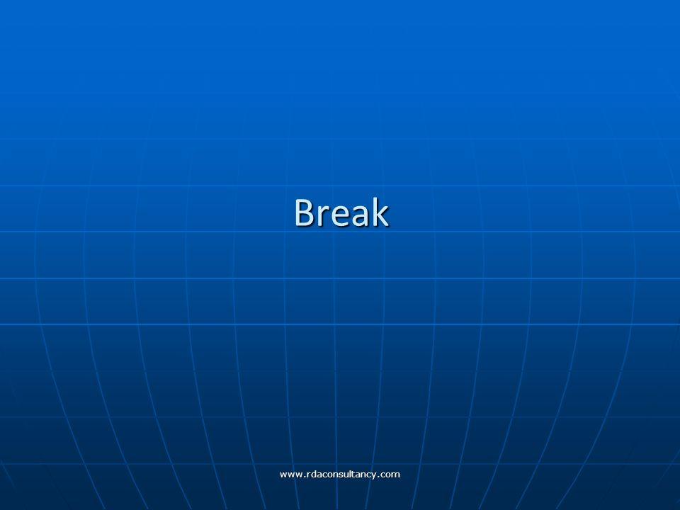 www.rdaconsultancy.com Break