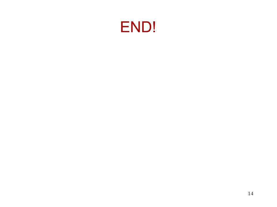END! 14