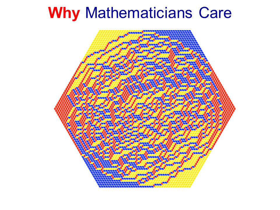 Why Mathematicians Care