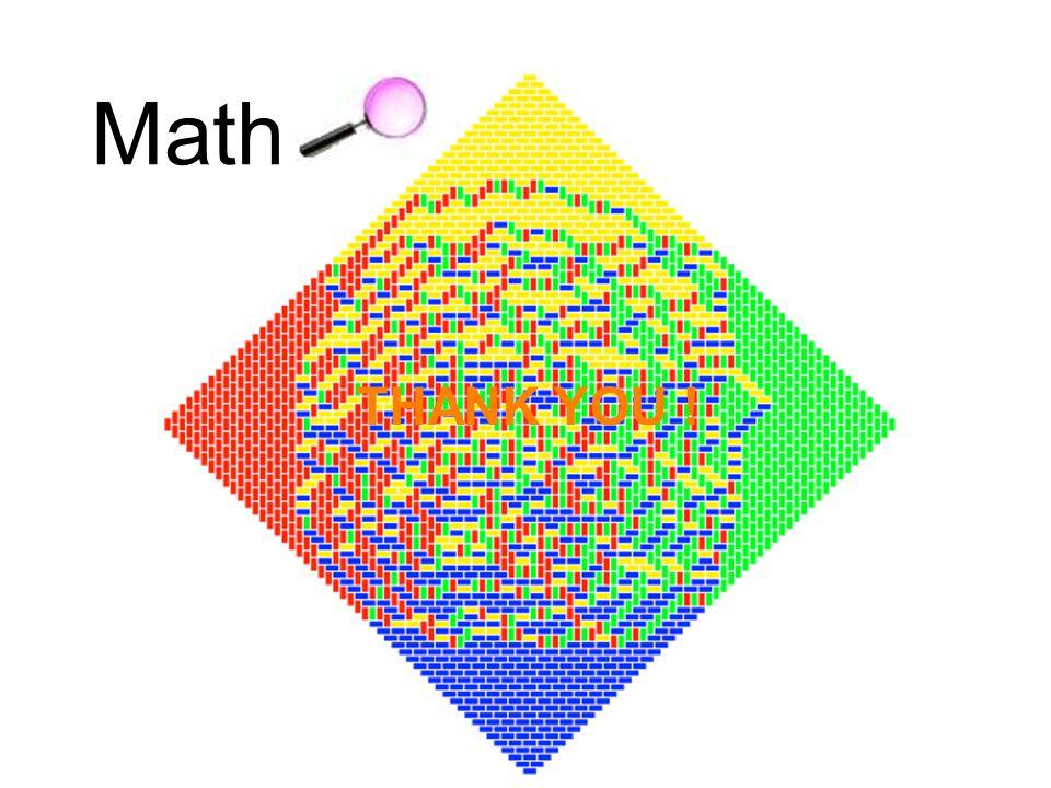 THANK YOU ! Math