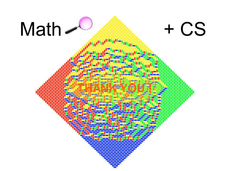THANK YOU ! Math+ CS
