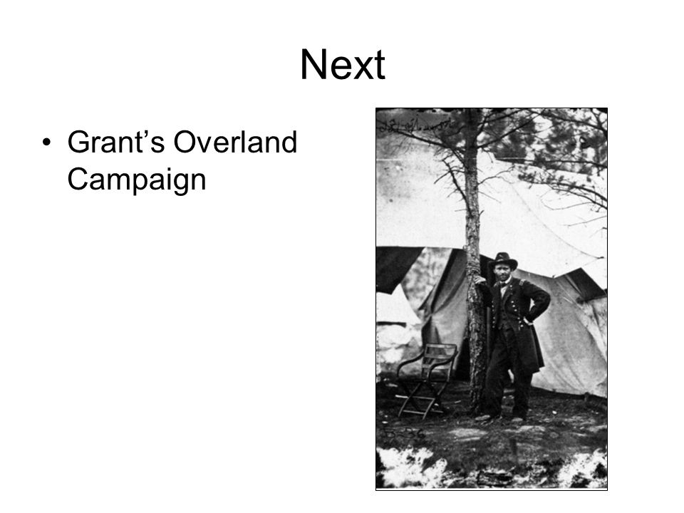 Next Grant's Overland Campaign