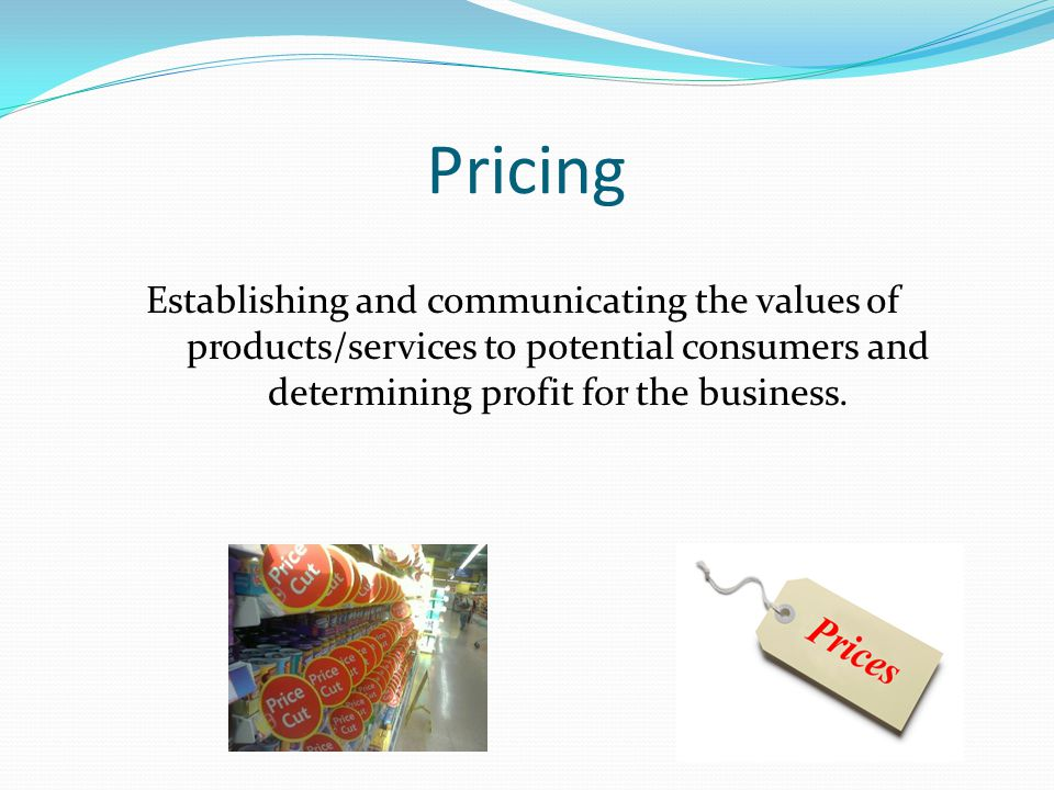 Promotion Informing, persuading, or reminding potential consumers about a business's products/services.