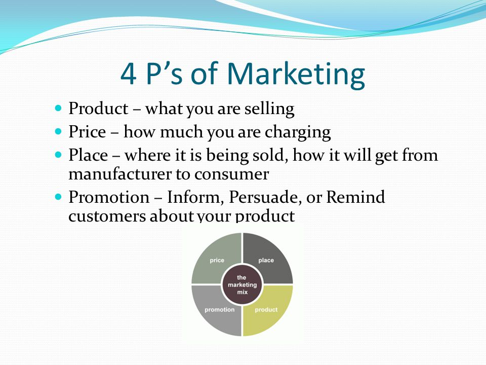Marketing Concept Businesses become successful by directing all of their efforts to satisfying the needs and wants of the customers.