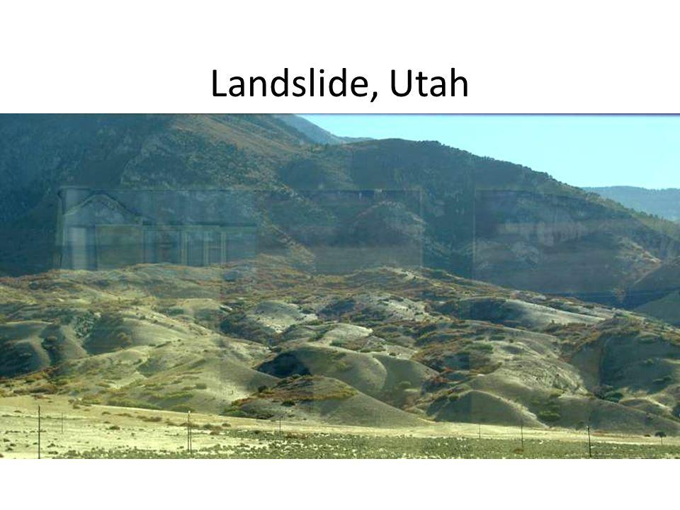 Landslide, Utah