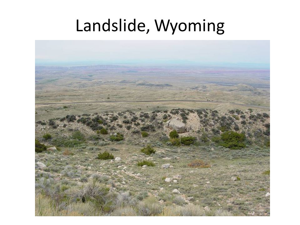 Landslide, Wyoming