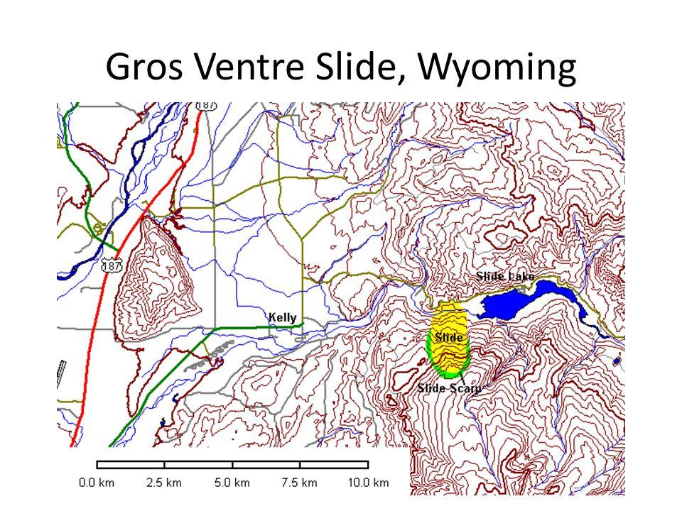 Gros Ventre Slide, Wyoming