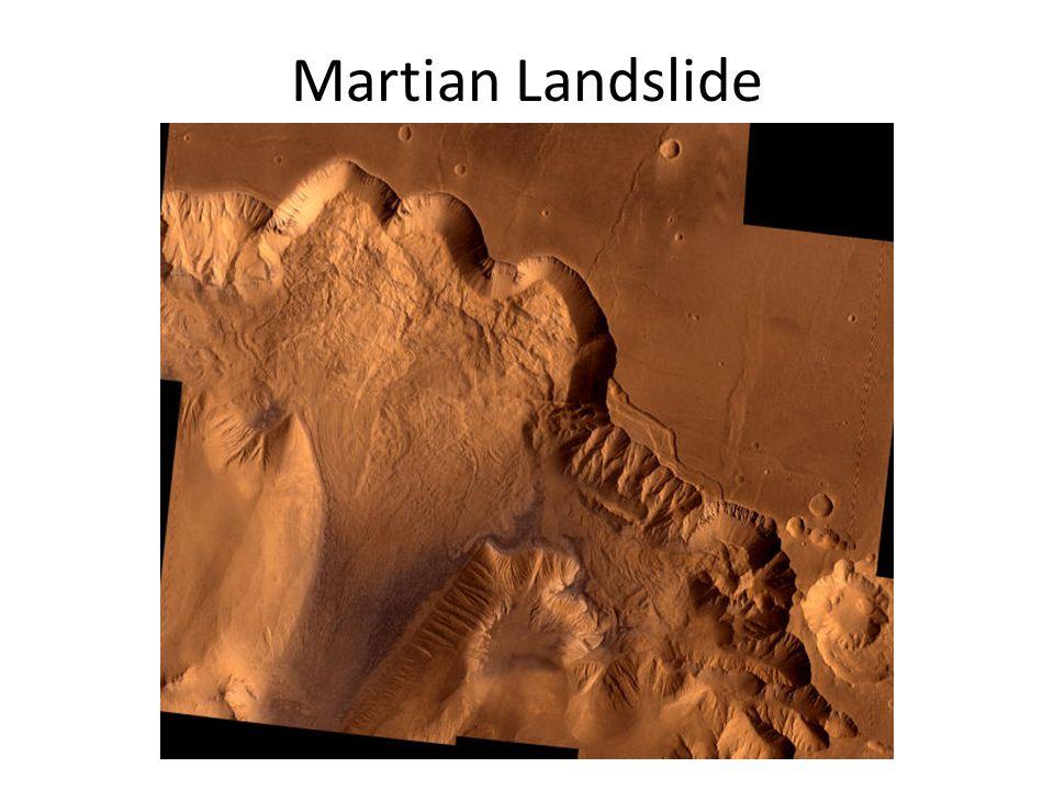 Martian Landslide