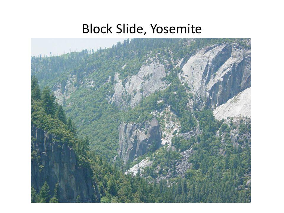 Block Slide, Yosemite