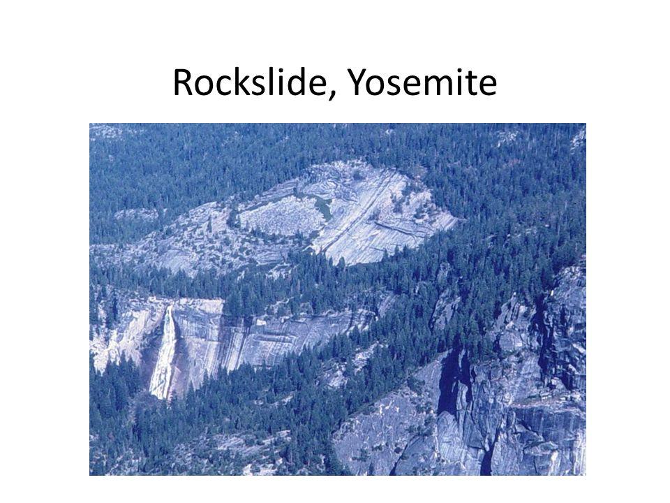 Rockslide, Yosemite