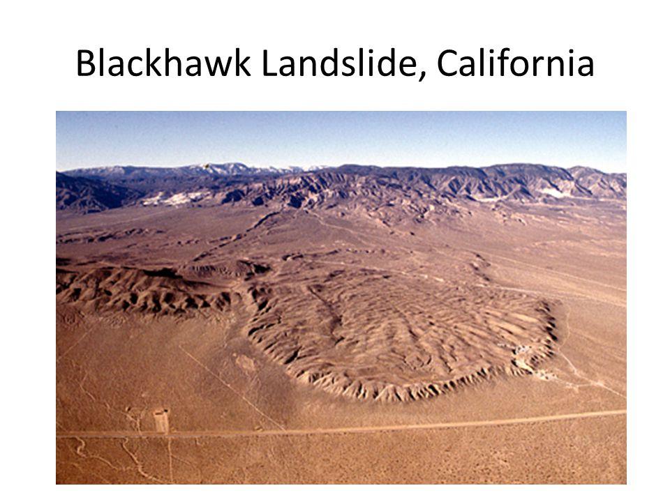 Blackhawk Landslide, California