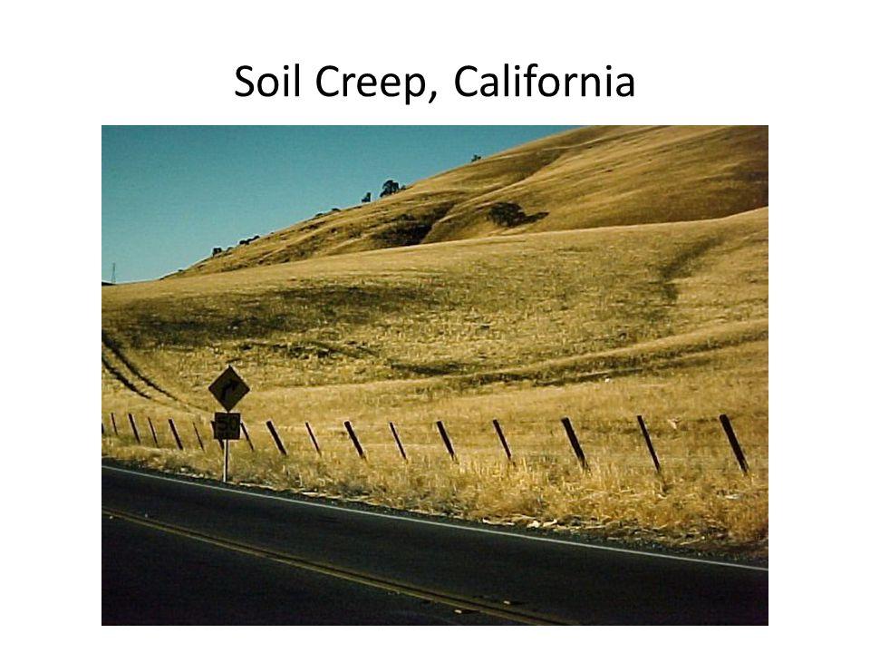 Soil Creep, California