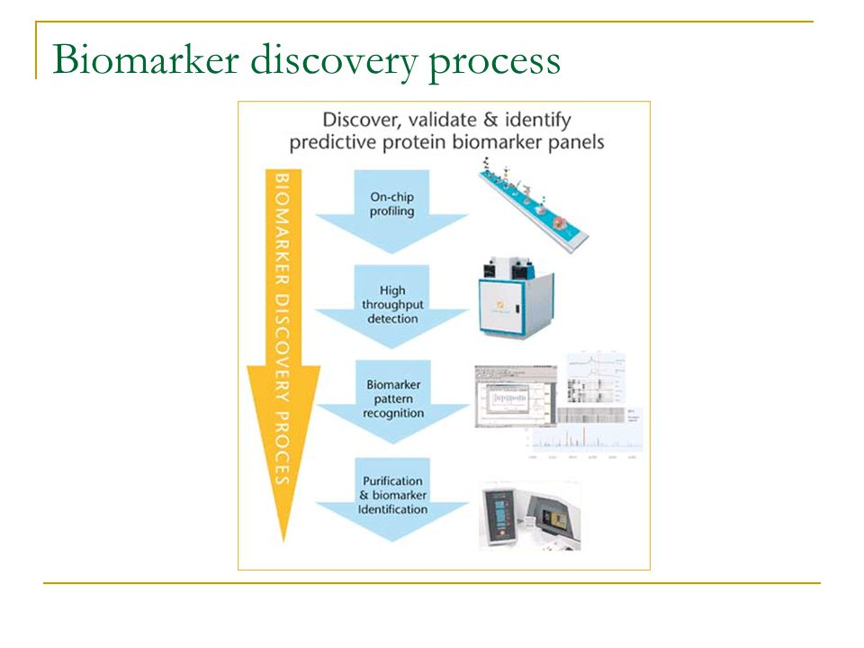 Biomarker discovery process