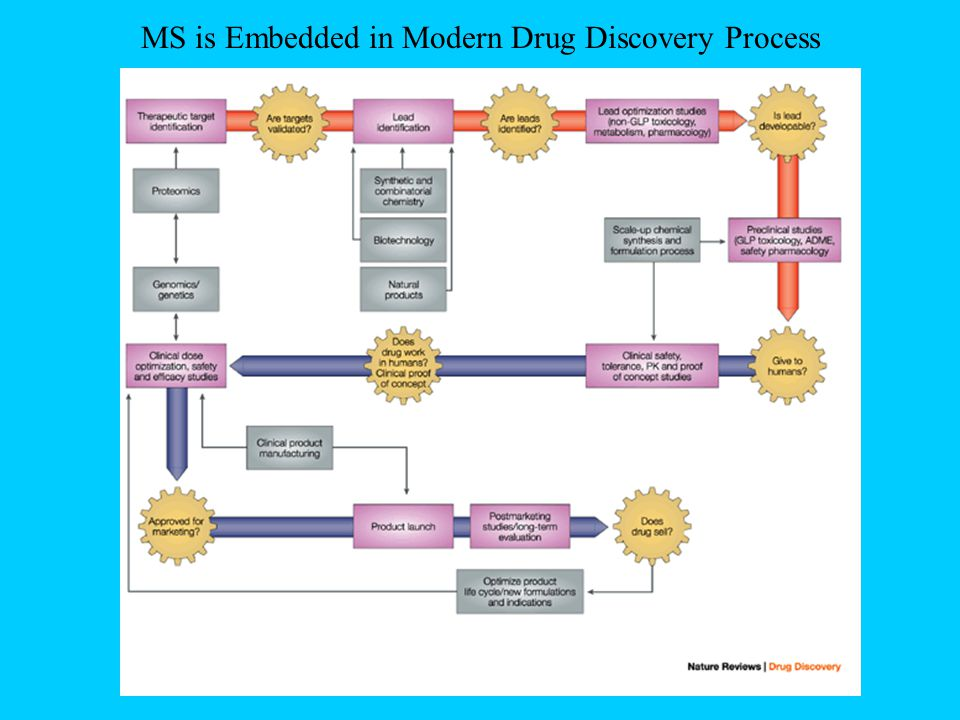 MS is Embedded in Modern Drug Discovery Process