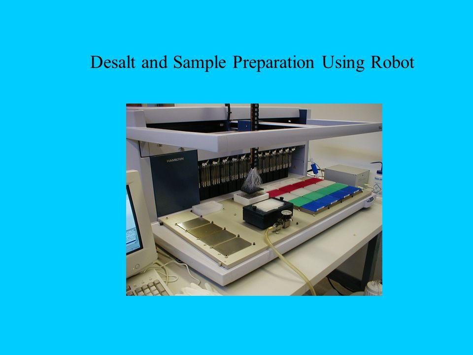 Desalt and Sample Preparation Using Robot
