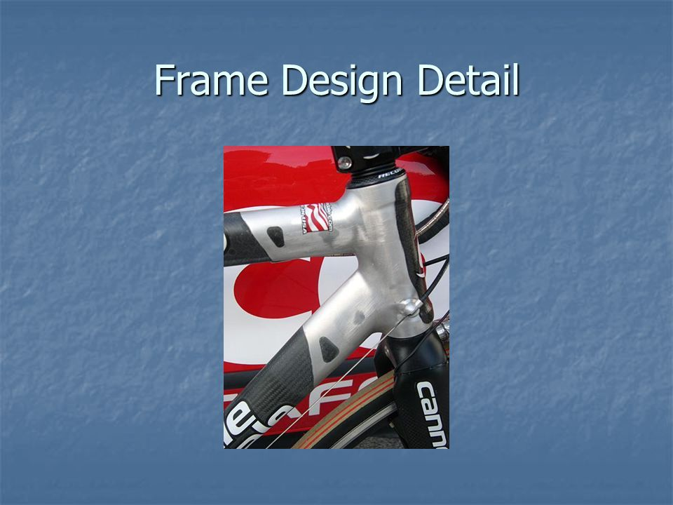 Frame Design Detail