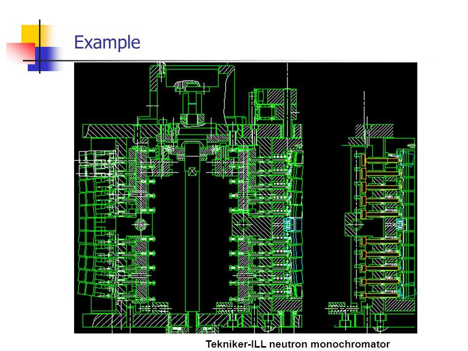 Example Tekniker-ILL neutron monochromator