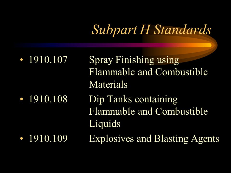 Definitions Flammable Liquid Flammable liquid means any liquid having a flash point below 100 °F (37.8 °C) Flammable liquids shall be known as Class I liquids