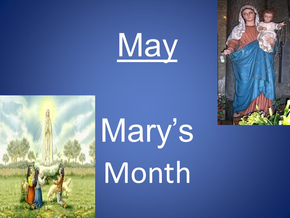 May Mary's Month