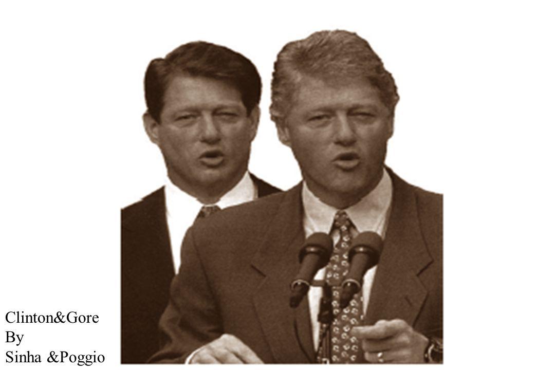 Clinton&Gore By Sinha &Poggio