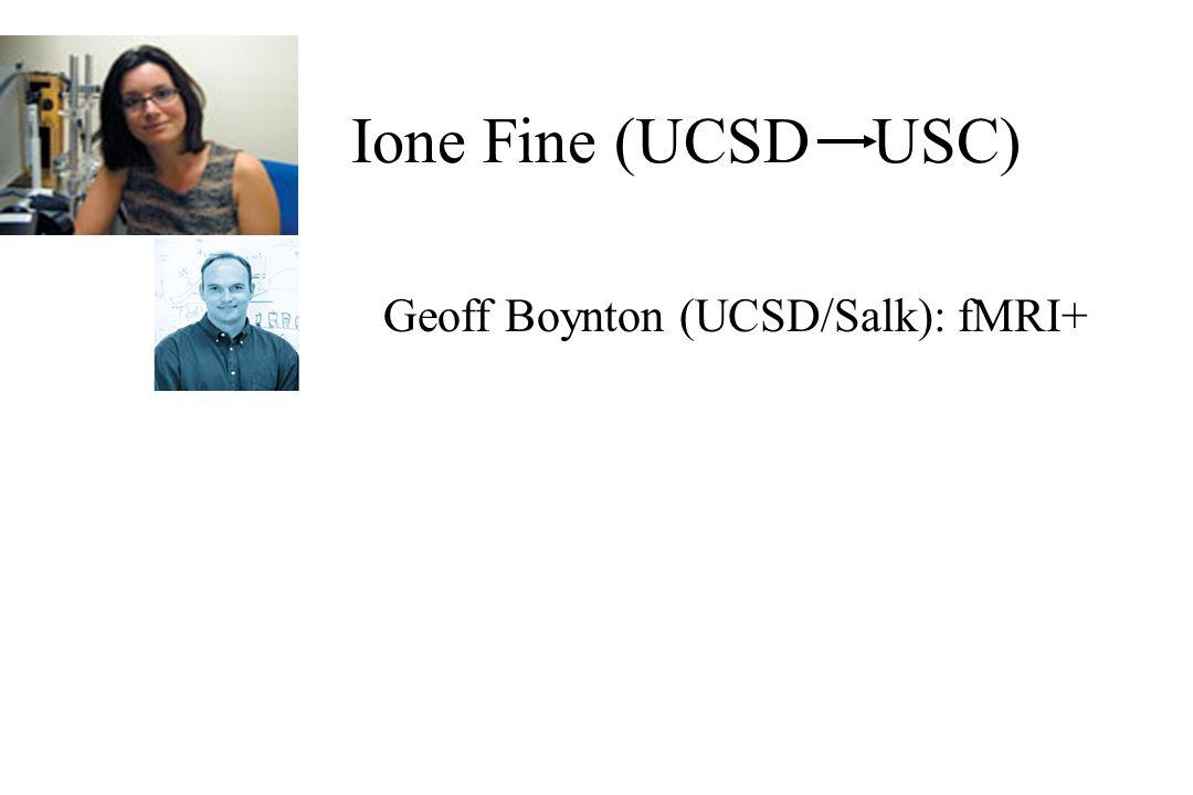 Geoff Boynton (UCSD/Salk): fMRI+